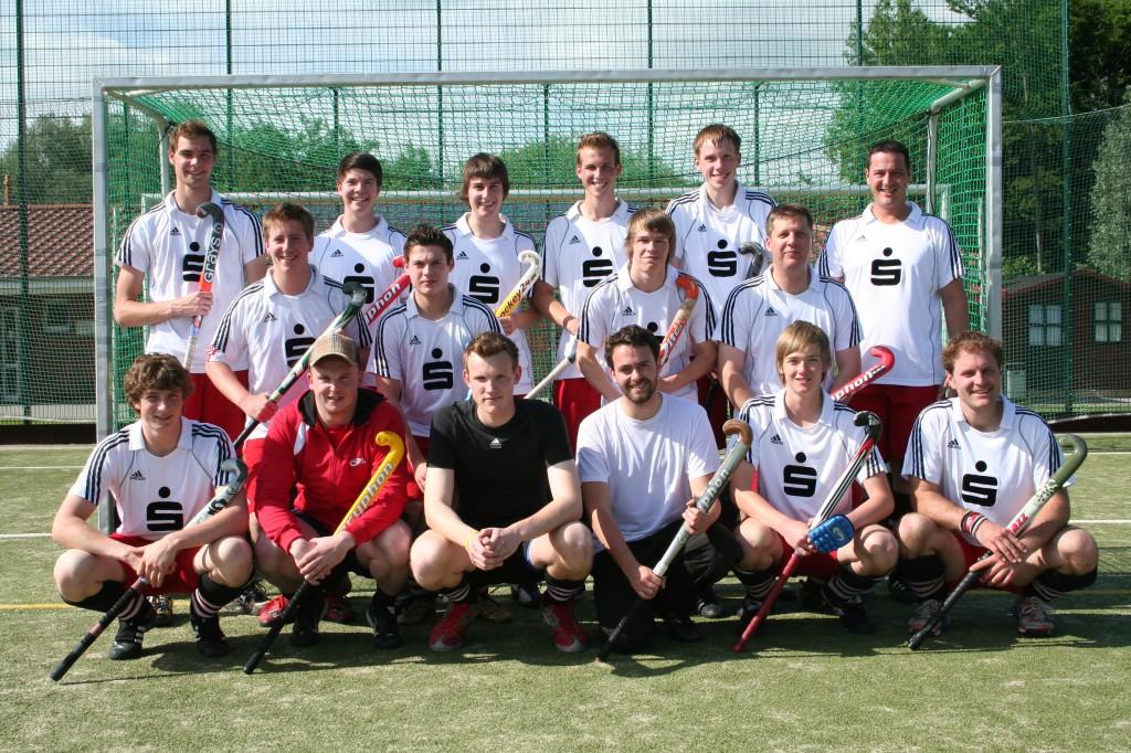 Aktuelles Mannschaftsfoto des Soester HC