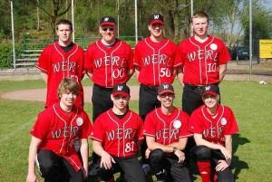 Ein Teamfoto der Werler Wölfe