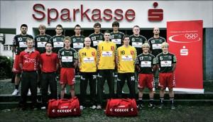 Ein Teamfoto der 1. Mannschaft des Soester TV